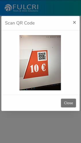 Piattaforma voucher - scan